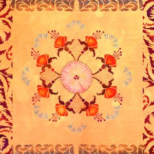 3b. Mandala Closeup, A.S.